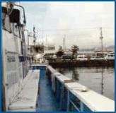 幸洋丸の左舷